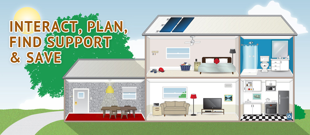 Start Interactive Home Energy Tour