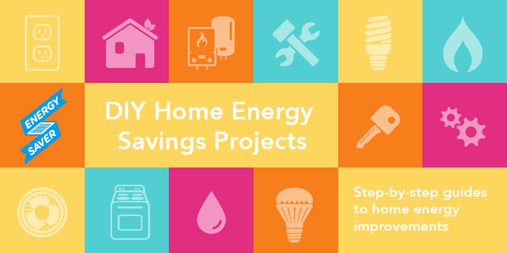 Figure 3. Energy Saver: Do-It-Yourself (DIY) Energy Savings Projects. Credit: US DOE – EERE.